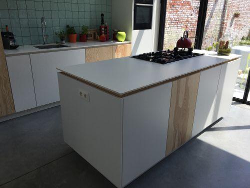 Keuken Sint-niklaas met Novy Mood dampkap