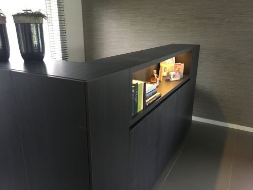Bureau met nis - Maku Interieur