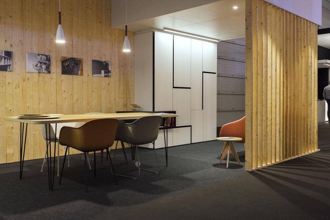 Opdeling van compartimenten in uw ruimten met de oplossingen op maat van Maku Interieur
