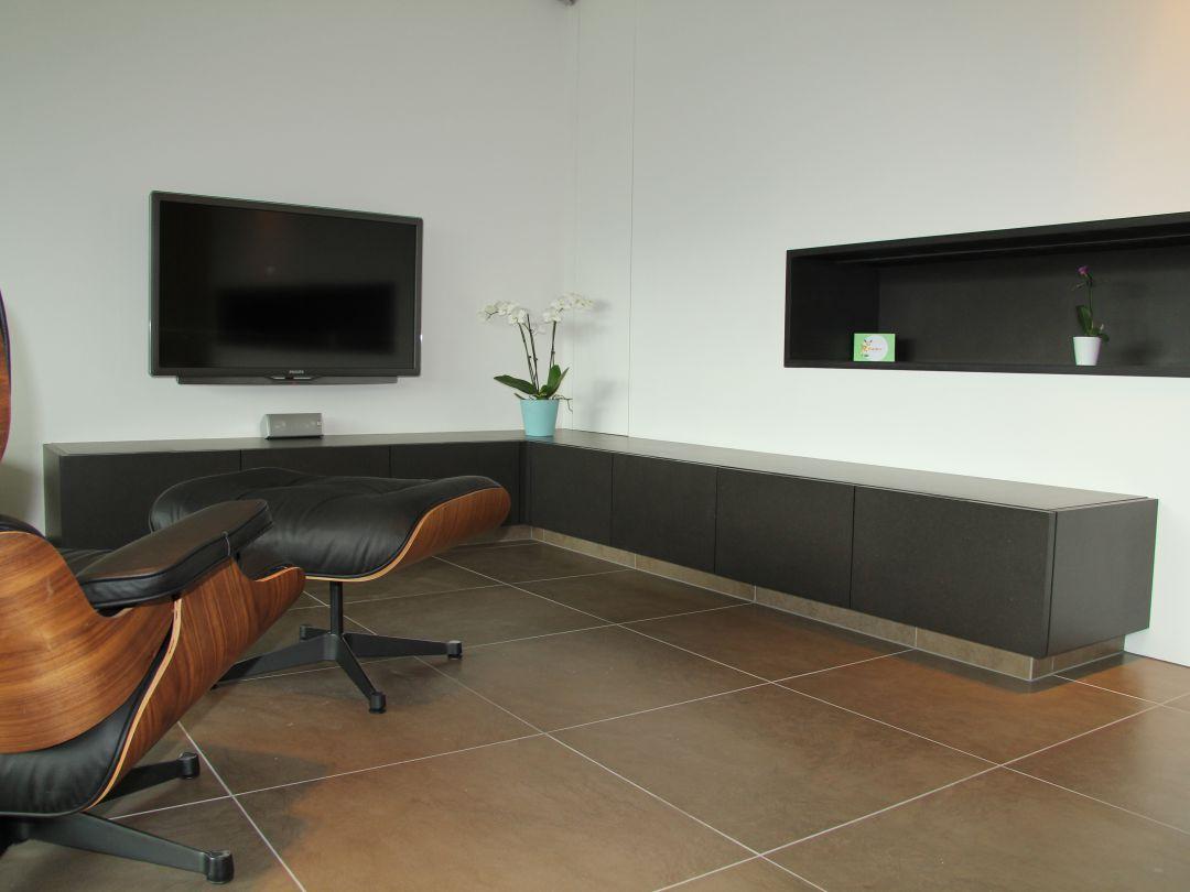 TV meubel op maat gemaakt te Gentbrugge