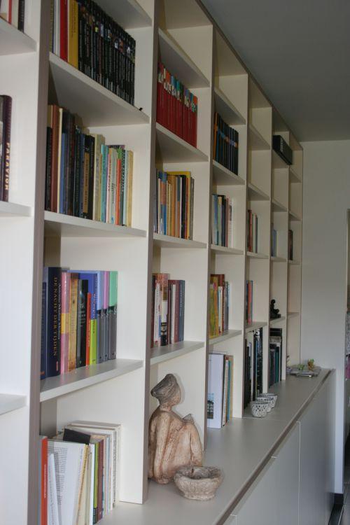 Boekenkast op maat in St-Amandsberg