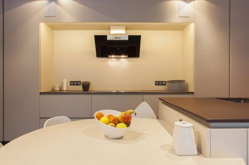 Keuken met een kooknis