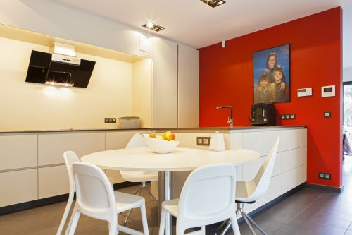Leefkeuken met een moderne look in Mariakerke