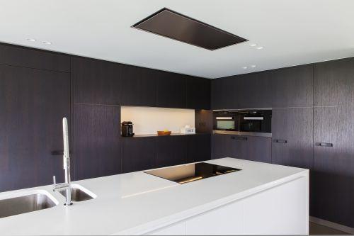 Zwart wit design keuken - Maku Interieur