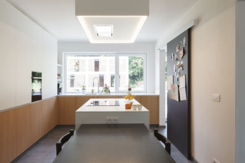 keuken uit laminaat 2 kleuren te Gent
