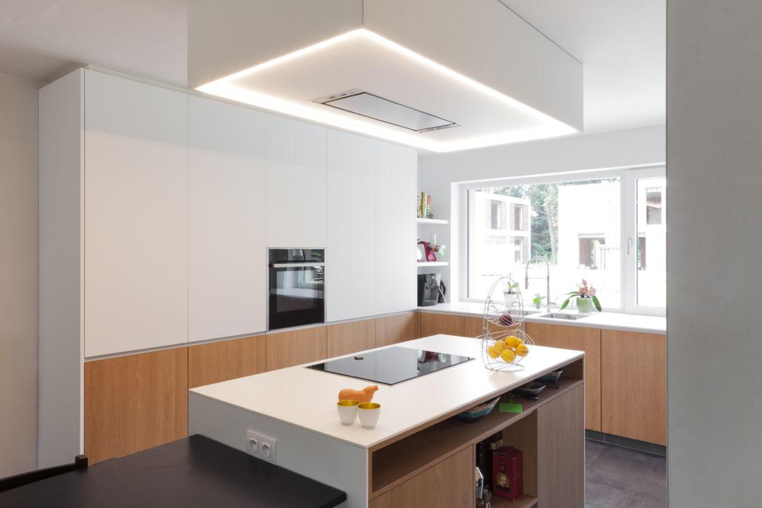 Keuken met Novy dampkap