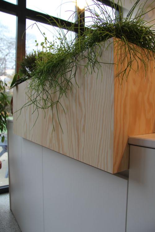 plantenbak op maat in keuken