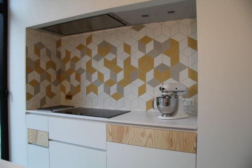 keuken spatwand tegels