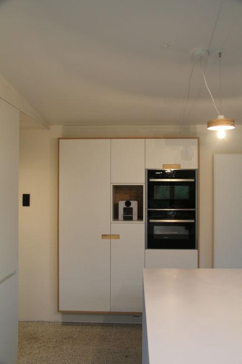 keuken met ingefreesde greep
