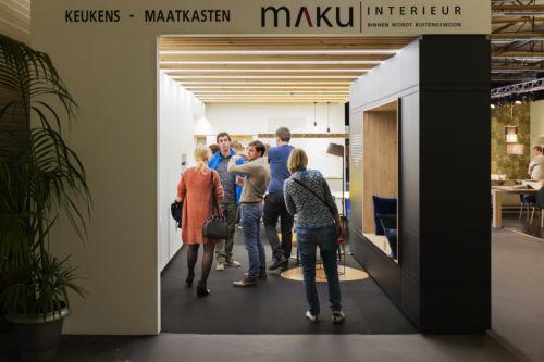 Overzicht Maku op bouw en inspiratiesalon