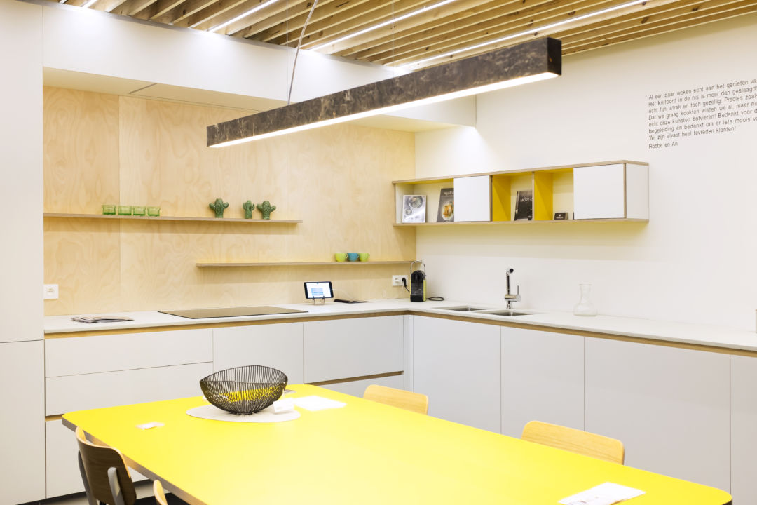 Keuken laminaat op berken multiplex