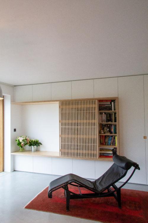 zitnis uit plywood