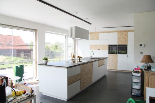 keuken osb en laminaat