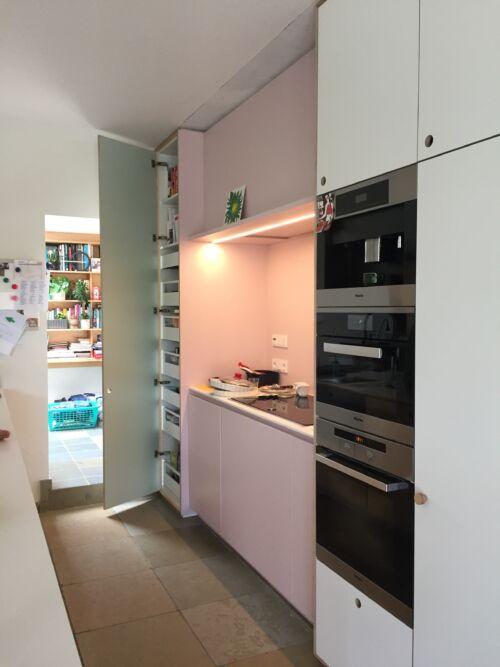 roze keuken