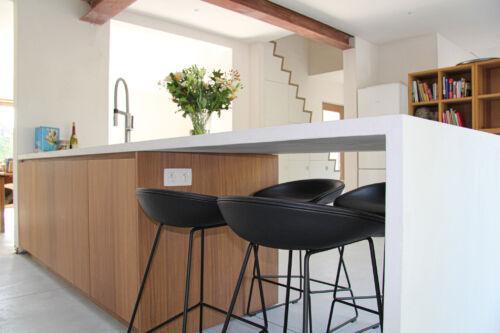 warme keuken met mortex werkblad